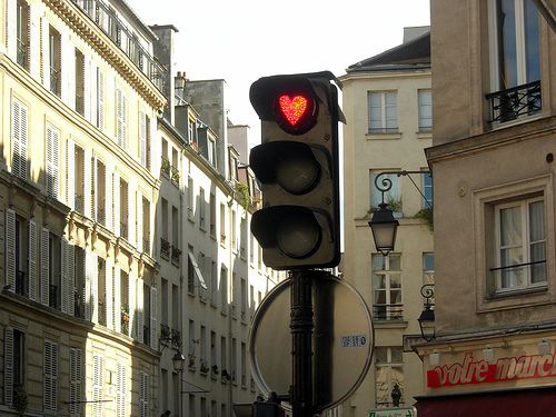 romantic relationship, love light