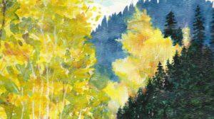 Autumn Mountain Road Carolyn Almendarez